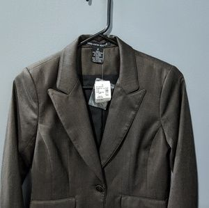 Saks  Women's Blazer - Chocolate Brown